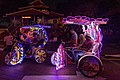 2016 Malakka, Kolorowe riksze rowerowe na Placu Holenderskim (07).jpg