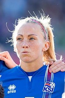 Gunnhildur Yrsa Jónsdóttir association football player