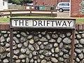 2018-04 03 Street name Sign, The Driftway, Sheringham.JPG