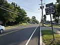 2018-05-29 18 28 36 View south along U.S. Route 202 (Morristown Road) at Somerset County Route 613 (Childs Road-Finney Avenue) in Bernardsville, Somerset County, New Jersey.jpg