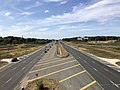 2019-09-27 14 39 49 View west along Virginia State Route 7 (Harry Byrd Highway) from the overpass for Virginia State Route 2020 (Ashburn Village Boulevard) on the edge of Lansdowne and Ashburn in Loudoun County, Virginia.jpg