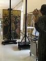 226 Taller de restauració, taula del retaule de Sant Esteve de Granollers.jpg