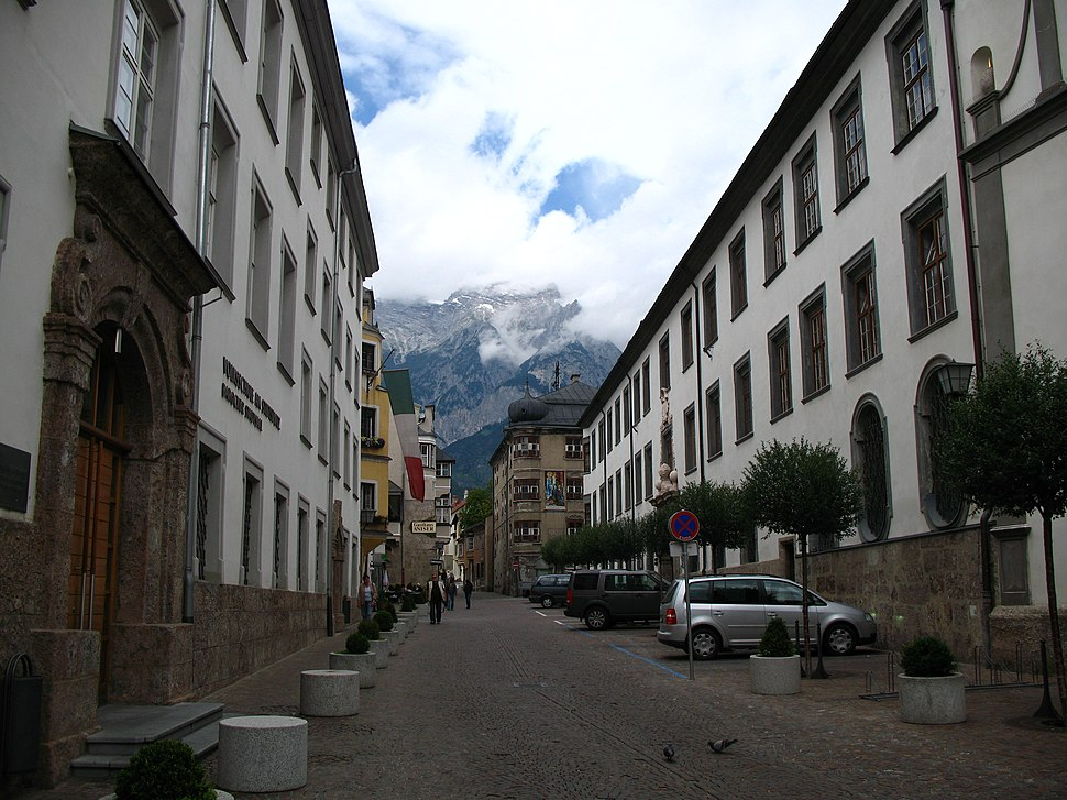 2883 - Hall in Tirol - Schulgasse