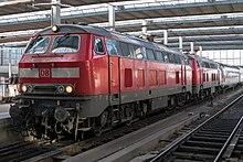 2 DB-Dieselloks BR 218