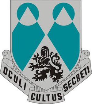 66th Military Intelligence Brigade - Image: 2 MI Bn DUI