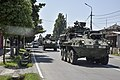 2d Cav. Regt, Georgian Soldiers convoy from Poti to Vaziani Training Area for Noble Partner (36193026916).jpg