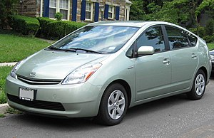 2004-2008 Toyota Prius photographed in Bethesd...