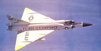 30th Air Division - Image: 326th Fighter Interceptor Squadron Convair F 102A 80 CO Delta Dagger 56 1444