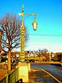 330. St.-Petersburg. 2-nd Garden Bridge. Support and a lantern of illumination.jpg
