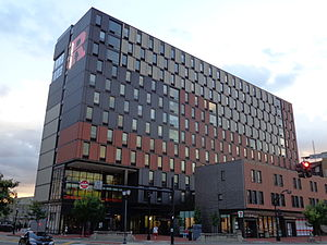 Rutgers University - Graduate student housing at Rutgers-Camden