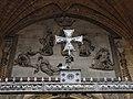 399 Catedral de San Salvador (Oviedo), relleu de la Transfiguració, portal central, des de la reixa.jpg