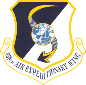438th Air Expeditionary Wing - 438th Air Expeditionary Wing emblem