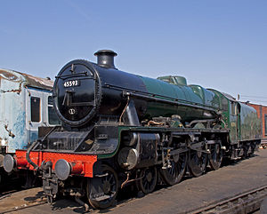 LMS Jubilee Class - Preserved No. 45593 Kolhapur