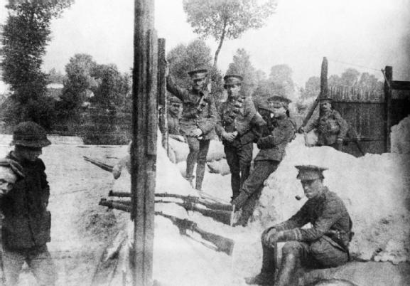 4th Dragoon Guards at Mons 1914