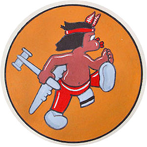529th Bombardment Squadron - World War II unit emblem