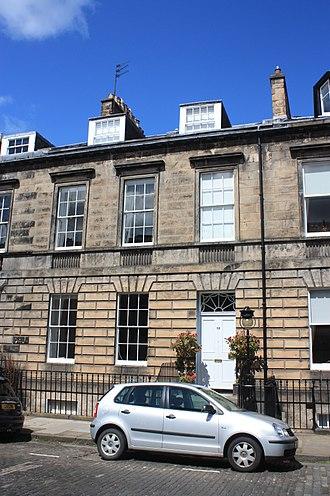 John Hamilton Gillespie - 53 Northumberland Street, Edinburgh