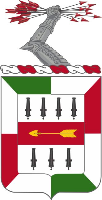 Edward Sigerfoos - The coat of arms for the 5th Infantry Regiment.