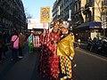 5 - Pat le Clown, fidèle du Carnaval de Paris, était là comme chaque année..JPG