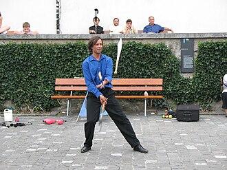 Knife juggling -  - Luzern - Juggler