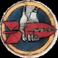 712th Bombardment Squadron - Emblem