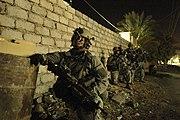 75th Ranger Regiment conducing operations in Iraq, 26 April 2007