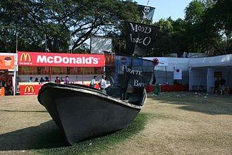 Mood Indigo (festival) - Pirate Ship from Mood Indigo 2009