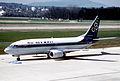 90ax - Olympic Airways Boeing 737-33R; SX-BLA@ZRH;21.03.2000 (5016179507).jpg