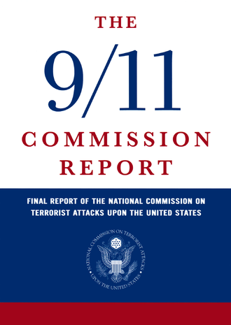 9/11 Commission - The cover of the final 9/11 report, which can be purchased in bookstores across the United States and around the world