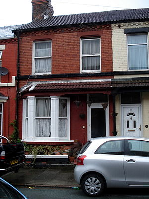 Julia Lennon - 9 Newcastle Road, Liverpool; the former home of the Stanley family