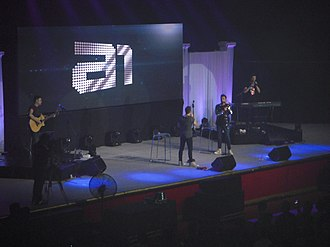 A1 (band) - A1 performing in Cebu, Philippines on October 25, 2018
