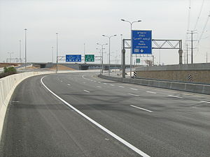 Route 431 (Israel) - Nes Ziona Interchange