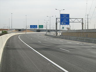 Route 431 (Israel) - Nes Ziona Interchange