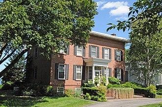 National Register of Historic Places listings in Orange County, New York - Image: ADAMS CHADEAYNE TAFT ESTATE, CORNWALL ON HUDSON, ORANGE COUNTY, NY