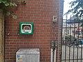 AED aan zijkant van 't Koffieboontje Aalter.jpg