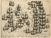 Dutch fleet vs Portuguese armada