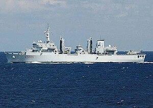 Italian ship Etna (A5326) - Image: AOR Etna