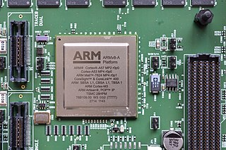 AArch64 64-bit extension of the ARM architecture