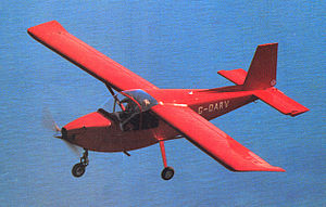 Forward-swept wing - ARV Super2 with forward-swept wing