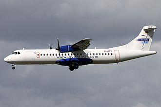 Avanti Air - A now retired Avanti Air ATR 72-202