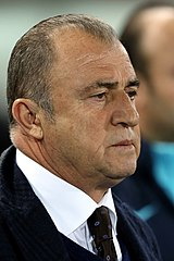 Fatih Terim, Turkish-born former manager of the Turkey national football team and current manager of Galatasaray.