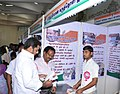 A Ganesh Kumar visiting the flagship stalls, at the Bharat Nirman Public Information Campaign, at Gingee in Villupuram District, Tamil Nadu on January 25, 2014. The Addl. DG, PIB, Chennai, Shri K.M. Ravindran is also seen.jpg