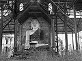 A Large Buddha in a War-Damaged Shrine (BOND 0509).jpg