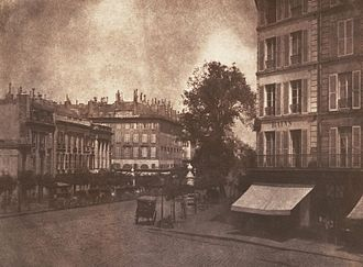 The Pencil of Nature - View of the Boulevards at Paris
