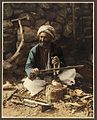 A Village Carpenter Making Ploughs - American Colony.jpg