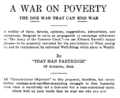 A War on Poverty 1925 title page.png