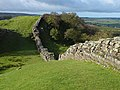A classic view of Hadrian's Wall - geograph.org.uk - 1540588.jpg