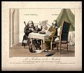 A doctor instructs his English patient not to eat as he does Wellcome V0011678.jpg