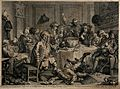A drunken party with men smoking, sleeping and falling to th Wellcome V0049232.jpg