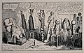 A large group of doctors deliberating around a patient; pres Wellcome V0016234.jpg