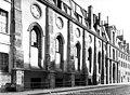Abbaye Sainte-Geneviève (ancienne), actuellement lycée Henri IV - Façade ouest - Paris - Médiathèque de l'architecture et du patrimoine - APMH00010062.jpg
